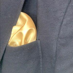 Other - Beige silk pocket square